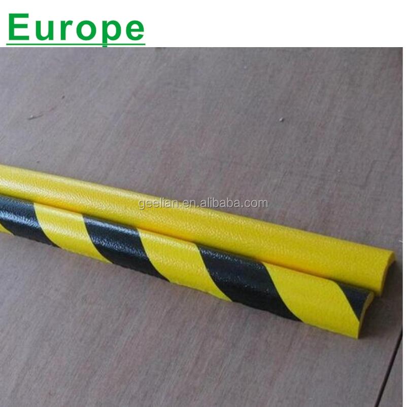 GEELIAN brand Reflective Plastic Round Recycled Foam Angle Corner Guard/PU FOAM Corner Protector /Column Protector