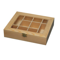 Hot selling wooden compartment box for jewelry with cheap price