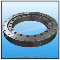 Floor mounted 360 degree rotating slewing bearing for crane/free standing