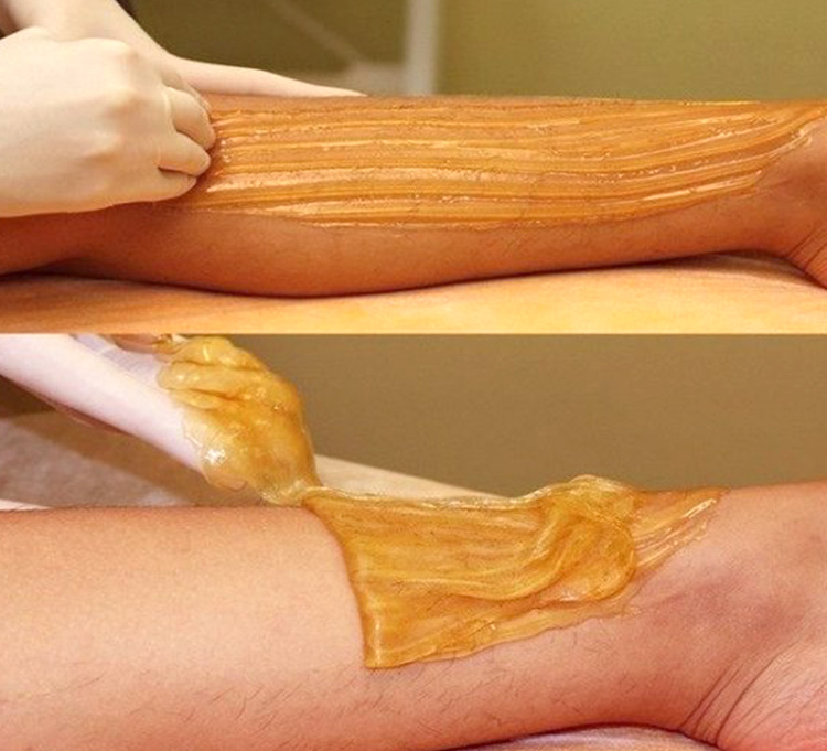Organic sugaring paste hair removal cold wax