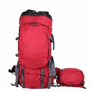 90L Professional internal frame backpack with detachable top bag and front tool bag rucksack backpack