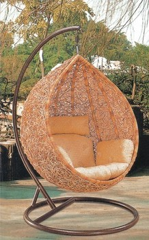 cheap norway indoor outdoor garden furniture cocoon wicker hanging