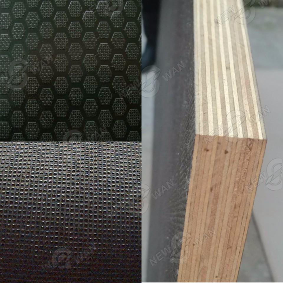 Plastic Veneer Plywood ~ Plastic plywood sheet coated laminated