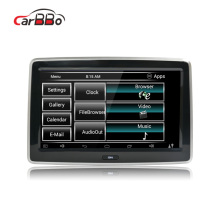 Bluetooth car monitor lcd mini tv portátil dvd player multimídia carro sistema de entretenimento