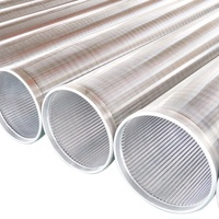 2019 New stainless steel 6 inch wire mesh screen/Johnson screen pipe