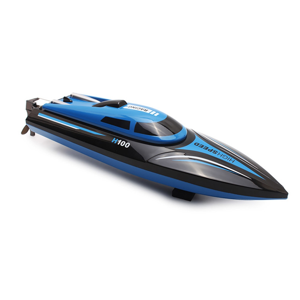 Hot Selling RC Boat H100 High Speed <strong>Model</strong> With LCD screen 2.4G 4 Channel Remote Control Toys For Children Gifts For Kids
