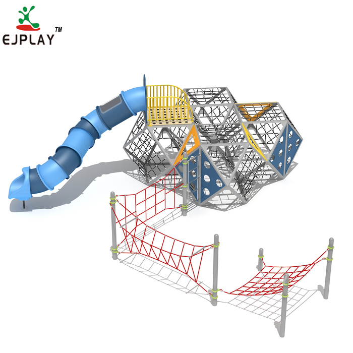 Ejplay Kids Plastic Outdoor Playground For Game Center