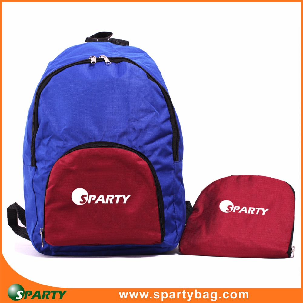 2017 hot china products wholesale foldable backpack teenage
