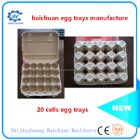 30 holes recycled paper pulp egg carton