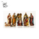 resin nativity statues christmas decoration resin nativity sets fiberglass Christ nativity of Jesus sculpture FSM-112