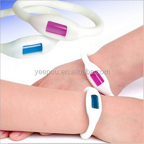 Natural Plant Refills Travel Mosquito and Insect Repellented Bracelet Virus Prevention