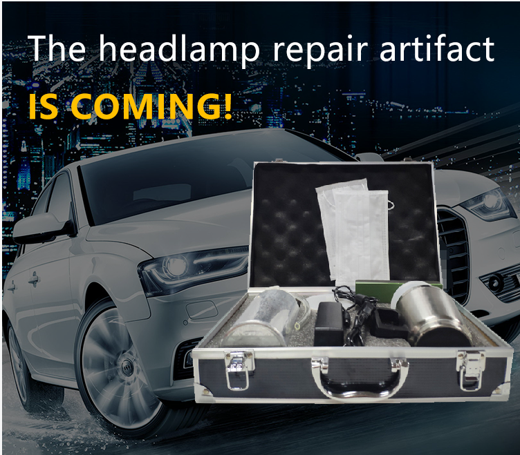 Allplace Car Lamp Renovation Headlight Repair Tool Steam Cleaner