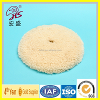 china supply high quality wool buffing pad for car polishing