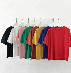 custom wholesale 100%cotton women's oversized 3/4 sleeve t shirts 24 hour tee shirts