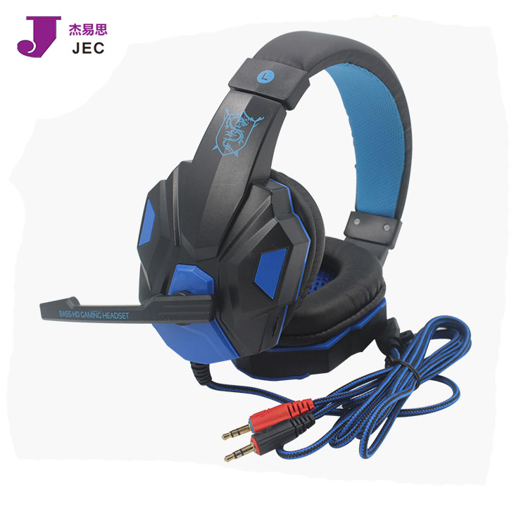 Factory Hot selling Wired Headphone LED Light style Headphone Model JEC-882MV