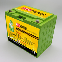 RELIPOWER China Lieferant Lithium-eisenphosphat-batterie 12 v 120AH LiFePO4 Batterien Caravan Camping Stand Alone Solar