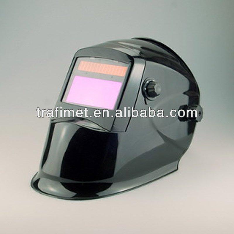 Solar Powered Auto Darkening Welding Grinding Mig Tig Arc Helmet ...