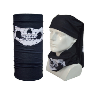 Wholesale Multifunctional Custom Skull Seamless Headwear Neck Tube Bandana