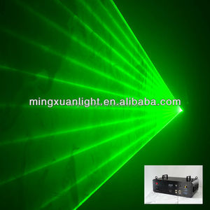 single 1000mw green laser light with ilda and sd card