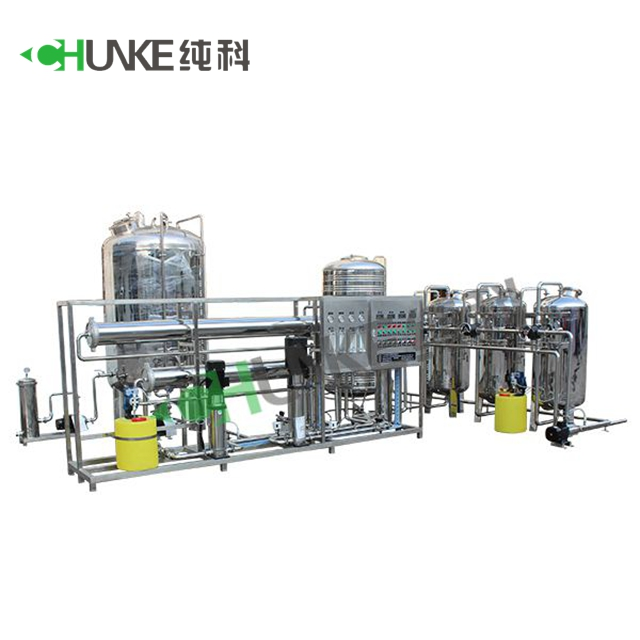 Chunke Medical Distilled <strong>Water</strong> 20T/H Pure <strong>Water</strong> Machine For Hospital Infusion <strong>Water</strong>