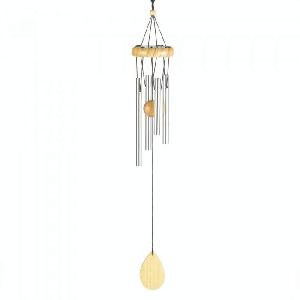BESTChoiceForYou Wind Wood Chimes Aluminum Outdoor Chime Metal Garden Decor - 19 inches