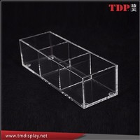 Clear Acrylic cube boxes plastic storage box