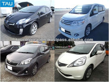 Japanese used car prices and wide variety of models