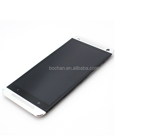Original smartphone spare parts for HTC ONE M7 LCD Touch Screen,For HTC ONE M7 100% original new LCD Display Touch Screen