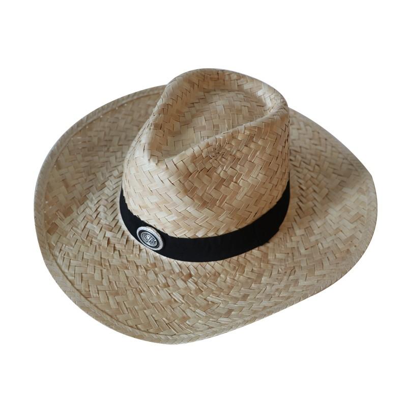 c282859a9b6ec Cheap Promotion Summer Sun Palm Straw Cowboy Hat - Buy Cowboy Hat ...