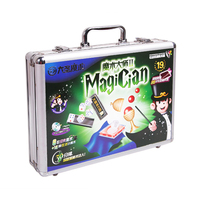 Wholesale classic professional stage illusion magic tricks kit set toys for kids