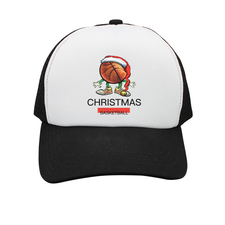 881123b93e7 Get Quotations · SHCBTYS Iron On Christmas Santa Basketball Women s Snapback  Hats Fashion Summer Hats