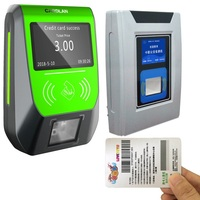 Portable Ticket device/pos machine offline swipe card on Smart Card Reader