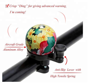Unique Mini Flower Bicycle Bell and Horns for Adults Kids Safety Warning Bike Bell Gift