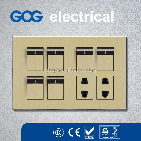 Oem Popular Wall Switch Socket 6+2 Modular Switch Plates Pakistan ...