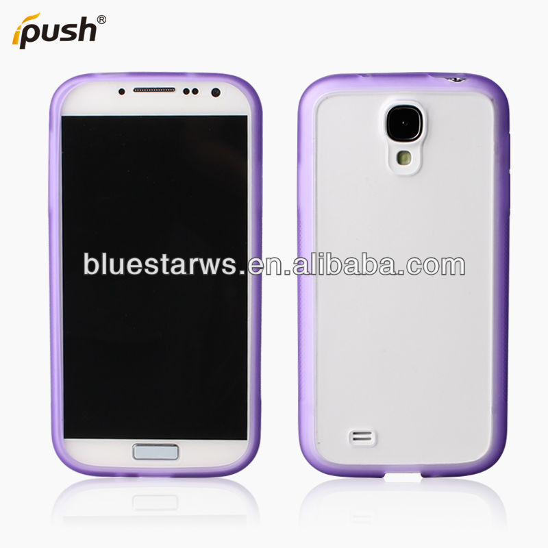 For Samsung S4 Hybrid TPU & PC Cell Phone Case Cover ,For Samsung i9500 TPU&PC Phone Case Cover