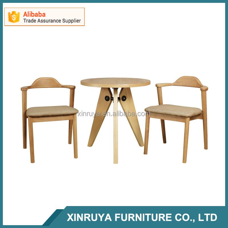 Dining room furniture new modern wooden dining table set