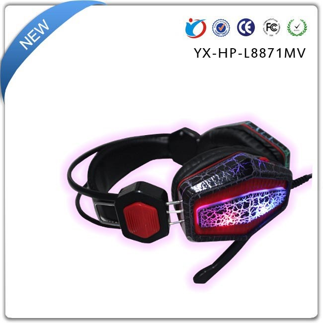 Wholesale 3.5mm USB Surround Sound Wired Game micro smart headphones with bluetooth
