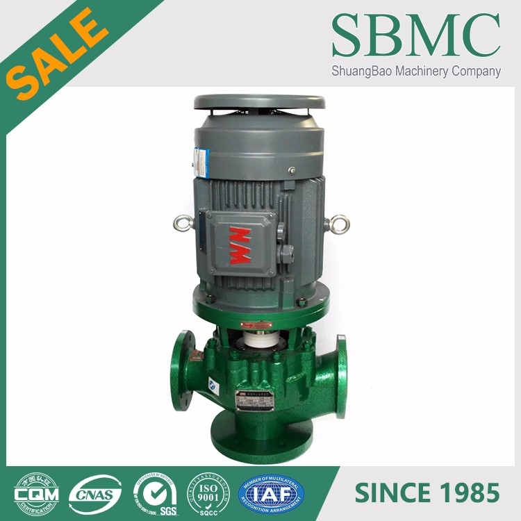 PFA lining recycled solvents pumps pump centrifugal supplier