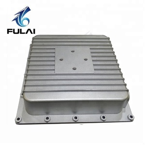 Custom made electronic device component aluminum die cast enclosure