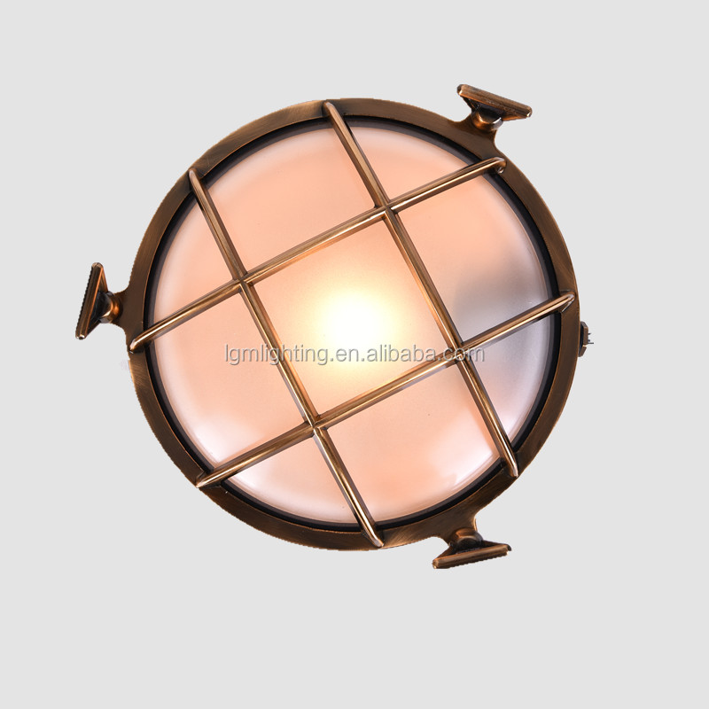 Warehouse Wall Sconce Copper Light