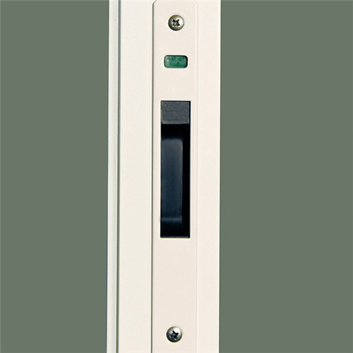 Standard door size aluminium three panel sliding glass for Three panel sliding glass door