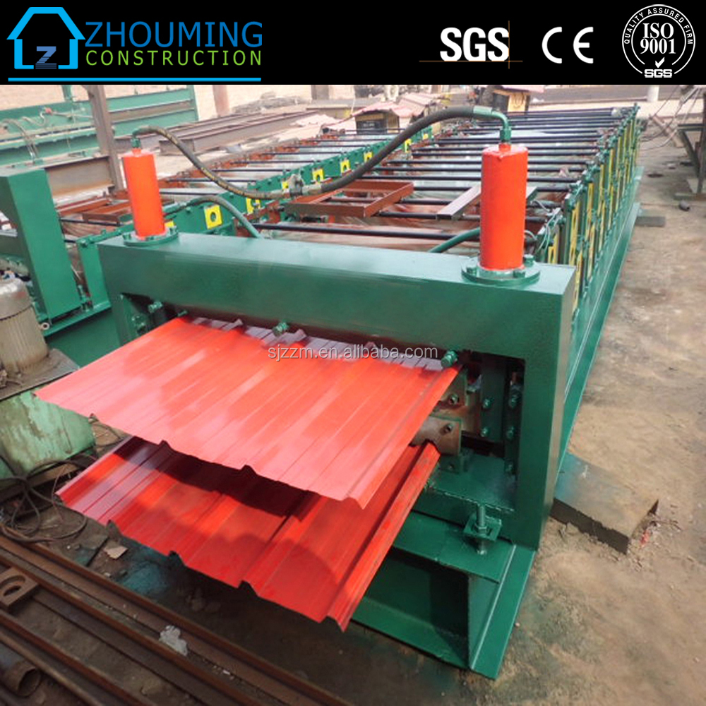 Double Layer Colored Corrugated & IBR Roof Sheet Machine