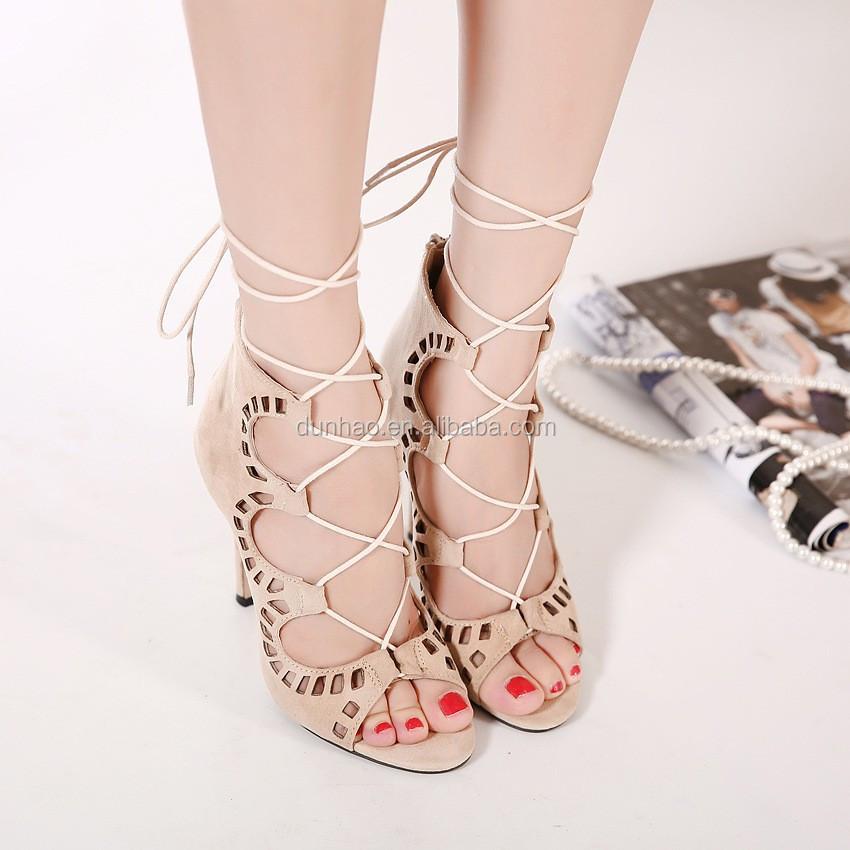 New Fashion Latest Design Pointed Toe Black Ladies High Heel Fancy ...
