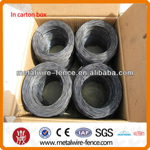 black annealed soft bailing iron wire