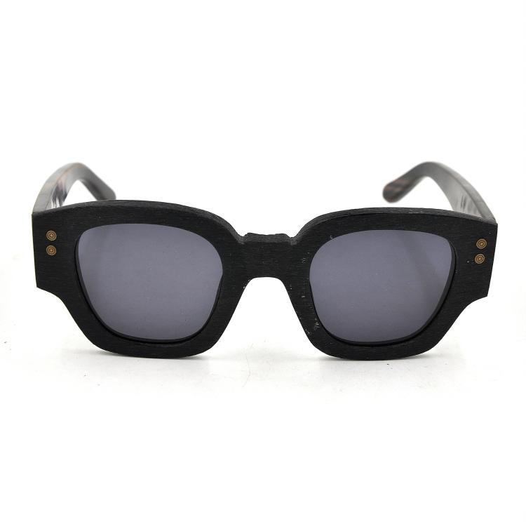 be2d077ea2 Wood Frame Polarized Sunglasses