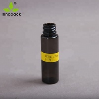 round clear amber plastic pet bottles green medicine capsules bottle