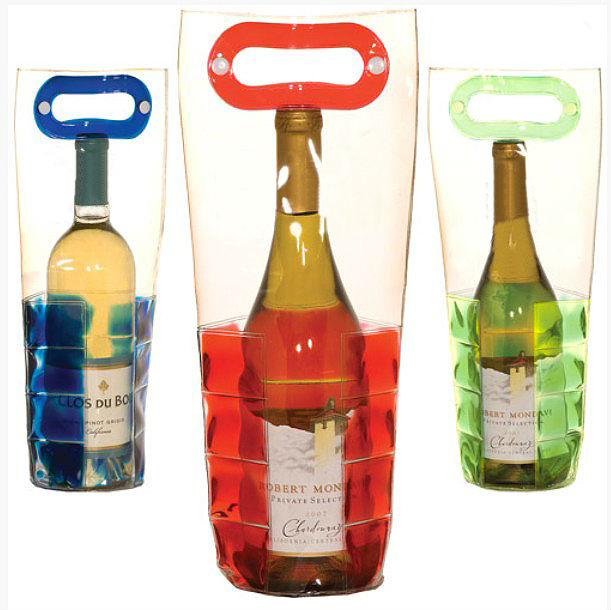 Flexible Chiller Tote Custom PVC Wine Cooler Bag