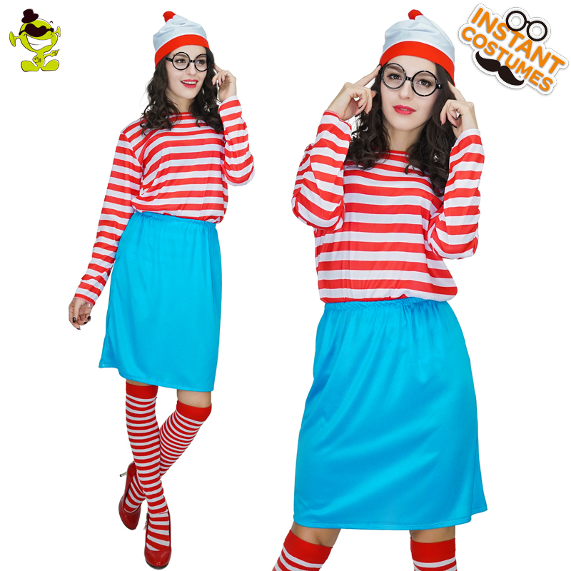 Adult's Where Girl's Go Costume Women's Storybook Costumes Fancy Outfits