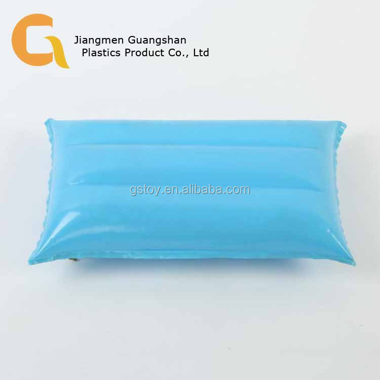 Rectangle Inflatable waterproof travel camping pillow