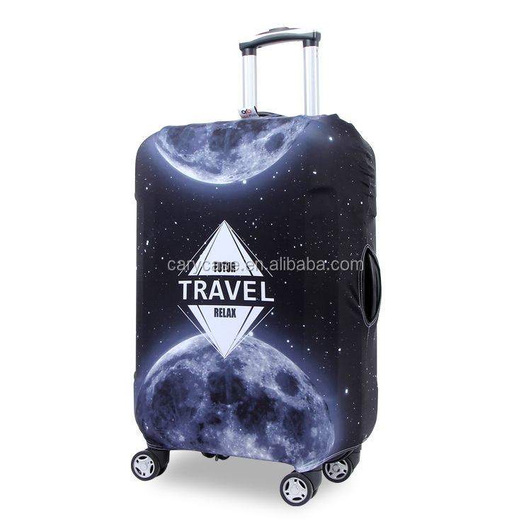 diamond print Upgrade thick waterproof travel suitcase sets 20 24 28-inch trolley case suitcase protective cover wear